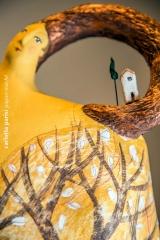 <h5>Donna Inverno di Carlotta Parisi</h5><p>Scultura di carta</p>