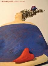 <h5>Donna blu di Carlotta Parisi</h5><p>Scultura in cartapesta, argilla e fil di ferro.</p>