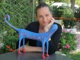<h5>Gatto con i calzettoni di Carlotta Parisi</h5><p>Gatto blu.</p>