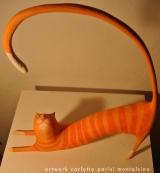 <h5>Generale Fotticchia</h5><p>Gatto a righe arancione - Su commissione.</p>