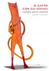 <h5>Gatto con gli stivali di Carlotta Parisi</h5><p>Scultura in ferro e cartapesta.</p>