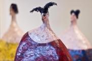 <h5>Le tre sorelle di Carlotta Parisi - Particolare</h5><p>Sculture in papier-maché</p>
