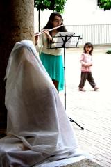 <h5>Inaugurazione Nunziatina Chiostro di Sant'Agostino - Montalcino</h5><p>Nunziatina velata.</p>