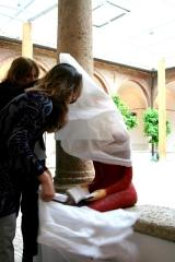 <h5>Svelando Nunziatina </h5><p>Chiostro di Sant'Agostino - Montalcino</p>