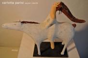 <h5>Omaggio a Marino Marini</h5><p>Cavallo di papier-maché dedicata al maestro</p>