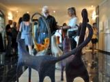<h5>Sala della Condotta - Bagno Vignoni</h5><p>Inaugurazione mostra d'arte Grazie di Carlotta e Annibale Parisi 2011</p>