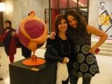 <h5>Con Alda D'Eusanio al teatro Conciliazione di Roma</h5><p>Il mio Paper Cirkus nel foyer</p>