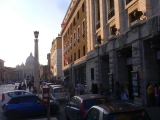 <h5>Vista su San Pietro</h5><p>Il mio circo in via della Conciliazione, Teatro della Conciliazione - Roma</p>