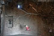 <h5>Giannina nella stanza della campana</h5><p>Fortezza di Montalcino</p>