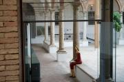 <h5>Nunziatina nel chiostro</h5><p>Ingresso Museo di Montalcino</p>