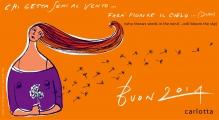 <h5>Buon Anno 2014!</h5><p>Chi getta semi al vento farà fiorie il cielo</p>