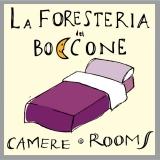 <h5>Logo per B&B La Foresteria del Boccone</h5><p>Materiale protetto da copyright.</p>