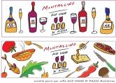 <h5>Artwork per menu - Caffé Le Logge Montalcino</h5><p>Materiale protetto da copyright.</p>