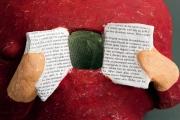 <h5>La memoria di Carlotta Parisi - Dettaglio</h5><p>Scultura di cartapesta selezionata alla biennale di Santorini 2012</p>