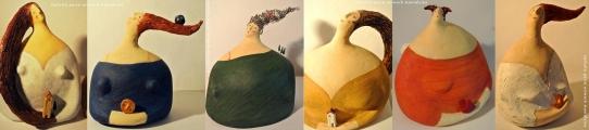 <h5>Donne in papier-maché di Carlotta Parisi 2012</h5><p>Gruppo di sculture di cartapesta.</p>