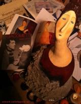 <h5>La Signora Modetti di Carlotta Parisi</h5><p>Omaggio al maestro Amedeo Modigliani</p>