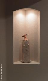 <h5>Donna Torre di Carlotta Parisi</h5><p>Scultura di carta in abitazione privata negli Stati Uniti.</p>