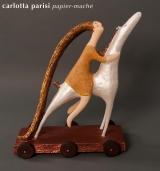 <h5>La storia, la memoria</h5><p>Scultura di cartapesta selezionata alla biennale di Santorini 2012</p>