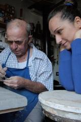 <h5>Con il maestro Alberto Cavallini</h5><p>Con il Caba a far fischietti in argilla</p>