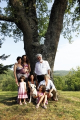 <h5>Sotto la nostra quercia a Nostravita (Montalcino)</h5><p></p>