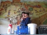 <h5>Affresco presso La Serena, Azienda vitivinicola in Montalcino</h5><p></p>