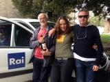 <h5>La troupe di Geo & Geo (RAI 3)</h5><p>Dopo le riprese nella mia bottega a Montalcino</p>