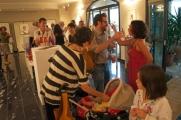 <h5>Inaugurazione mostra d'arte Grazie - Bagno Vignoni</h5>