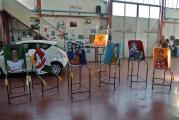 <h5>Le Carrette di Punti di Vista in carrozzeria</h5><p>Le carrette di Punti di Vista nella carrozzeria Nannetti-Saletti, San Quirico d'Orcia</p>