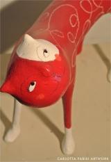 <h5>Garro bianco e rosso  di Carlotta Parisi</h5><p>Particolare sul muso</p>