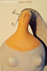<h5>La Biancana di Carlotta Parisi - Particolare</h5><p>Scultura in cartapesta</p>
