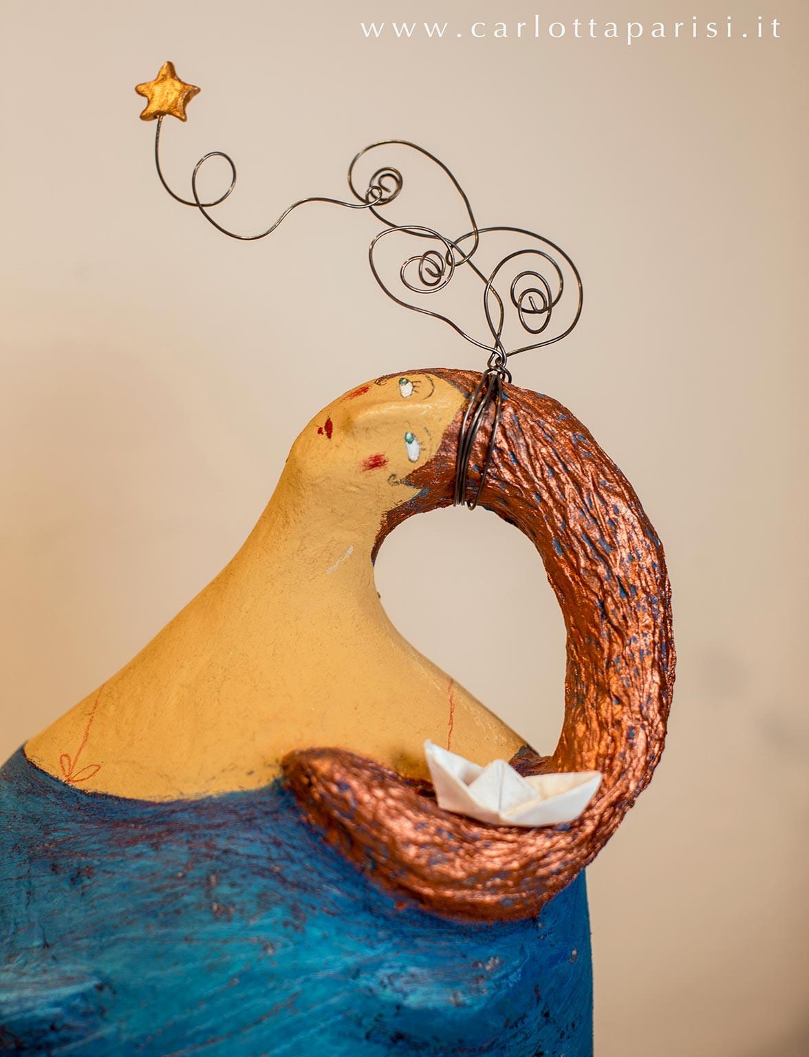 Marina - Ladies Paper Sculptures