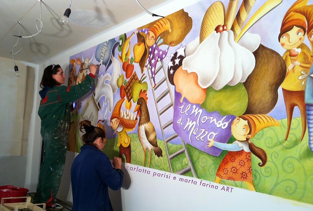 Affreschi e Murales