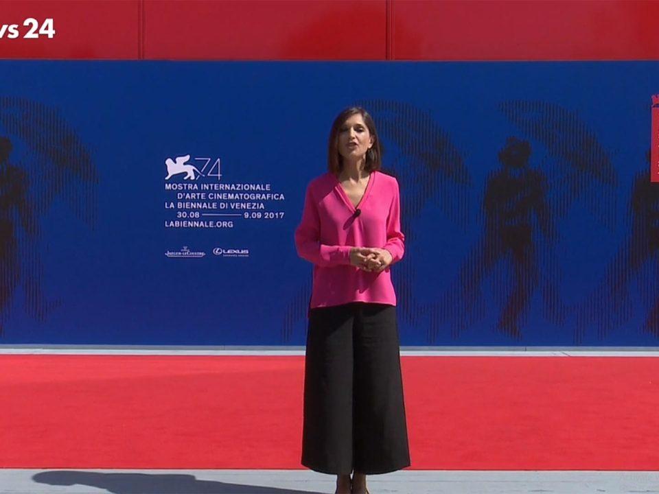 Carta inCanta di Carlotta Parisi su rai news 24 dalla Mostra del Cinema di Venezia