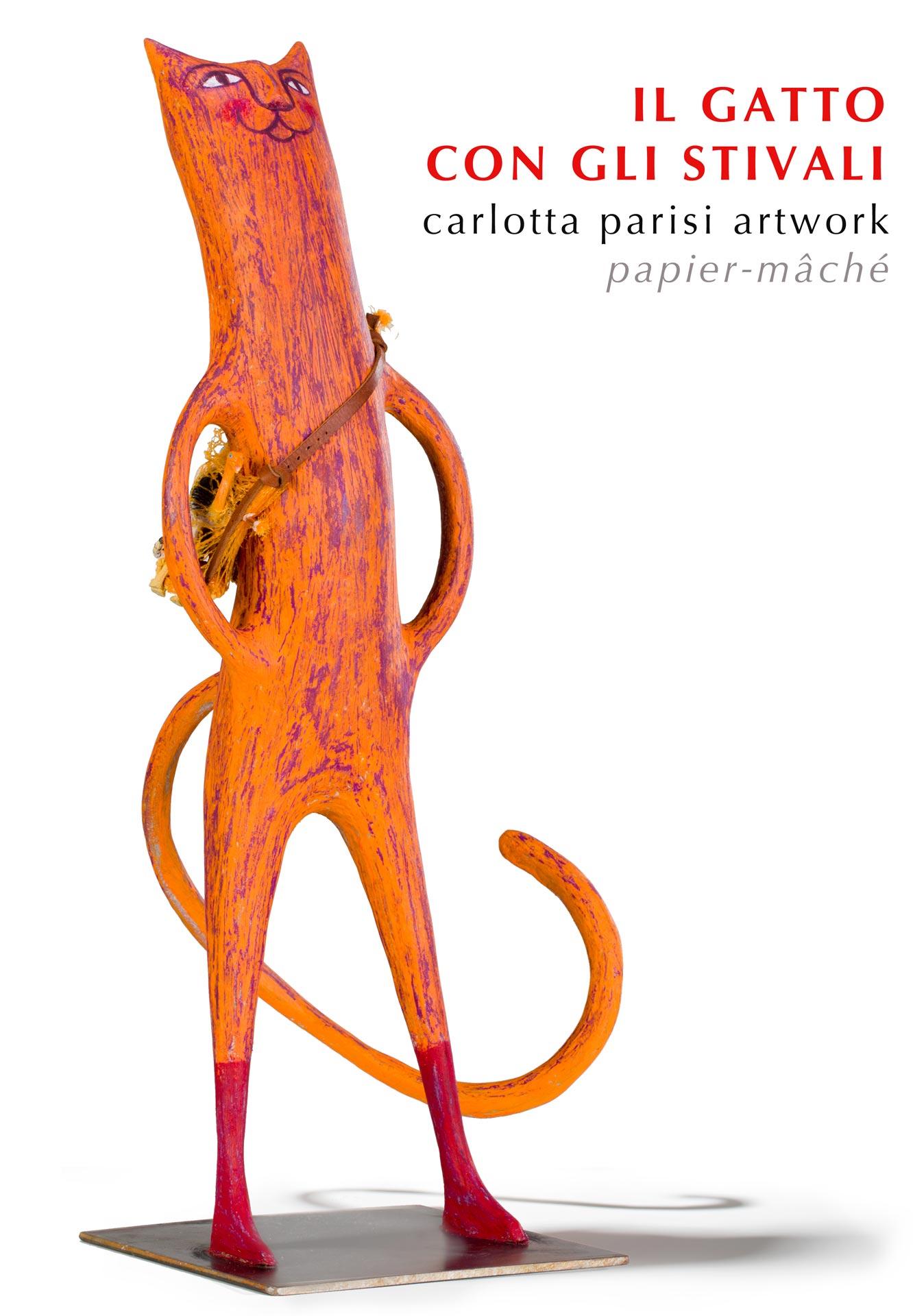Gatto con gli stivali - Carlotta Parisi